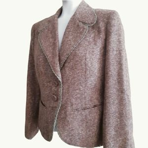 Biacci | beautifully textured fitted warm blazer
